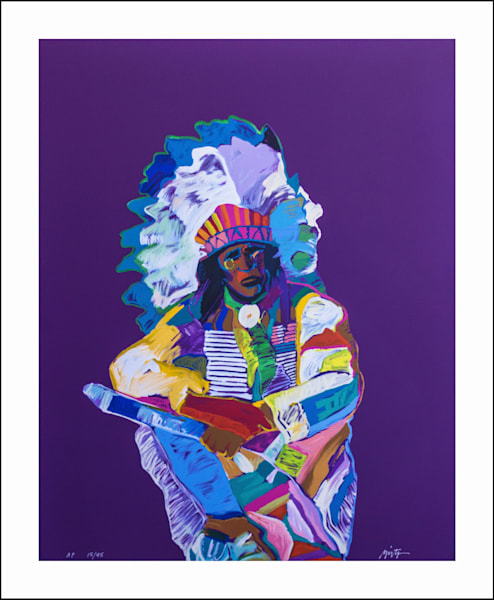Chief | John Nieto Art Limited Edition Serigraph