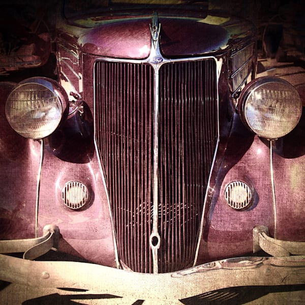Classic Ford Grill fine art