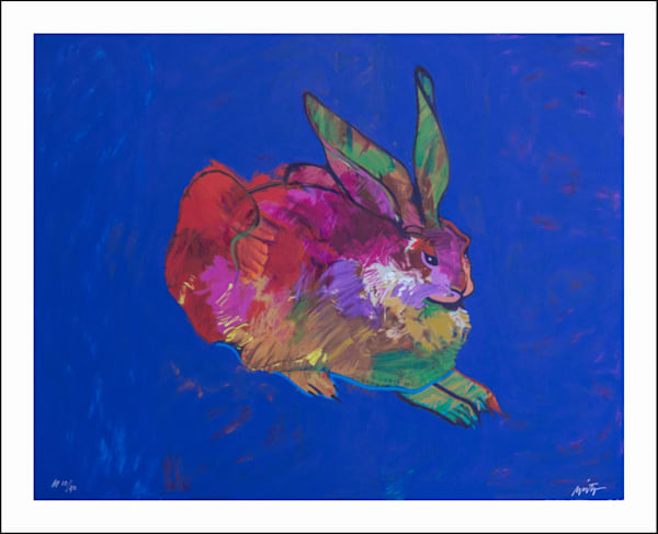 Rabbit (after Durer) | John Nieto Art Limited Edition Serigraph