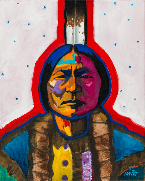 Sitting Bull | John Nieto Art Reproductioin