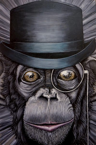 Sir Chimpston Churchill