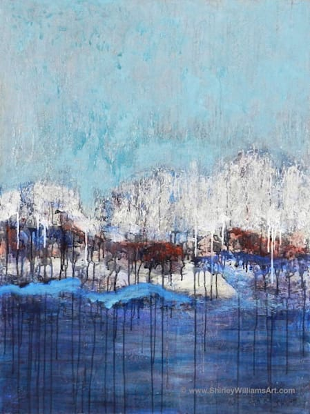 'Blue Horizon' #1704 Large Original Painting