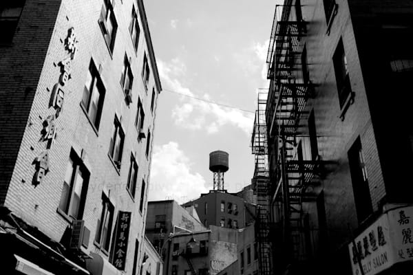 Water Tower B/W