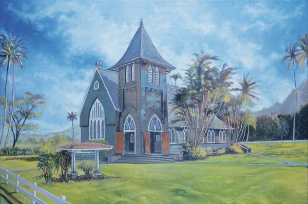 Wai'oli Huiia Church Art | Sandy Garnett Studio