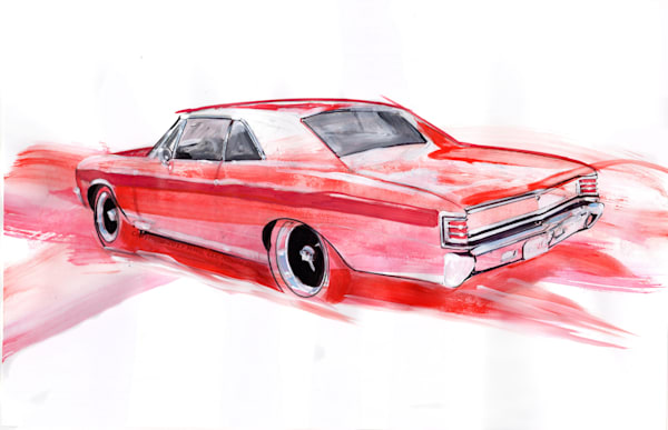 Red Chevelle Blk