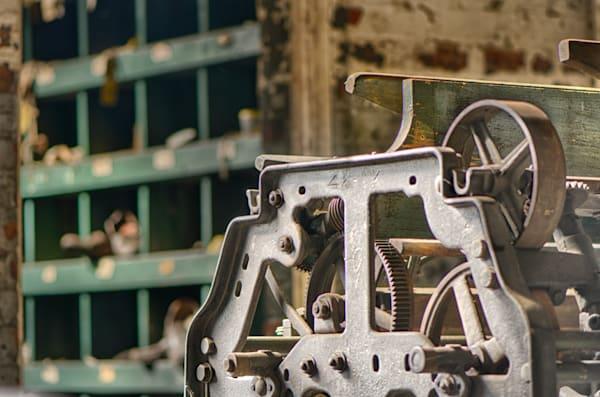 Antique Factory Machine Art