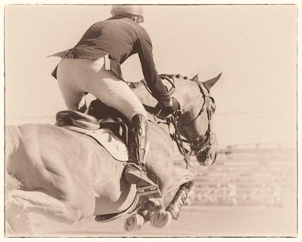 Flexible In The Grand Prix, Sepia Photography Art by cbpphoto