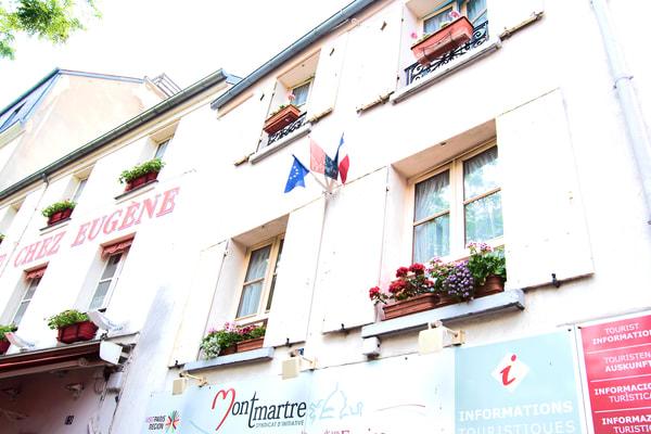 Photograph of Chez Eugene, Montmartre in Paris