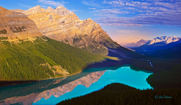 Peyto Lake near Bow Summit in Banff National Park, Canada
