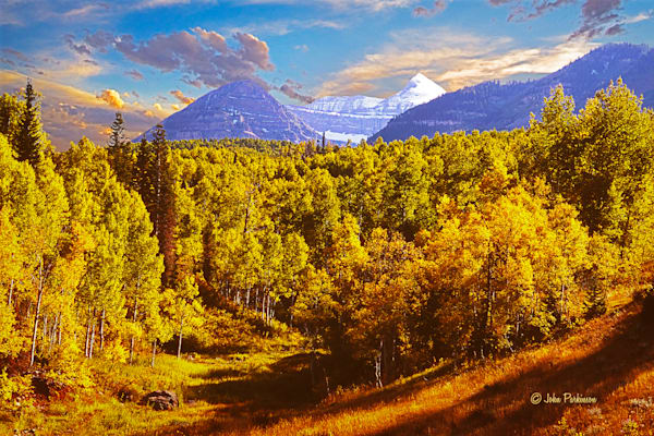 Provo Peak In Autumn Photography Art | Art in Nature