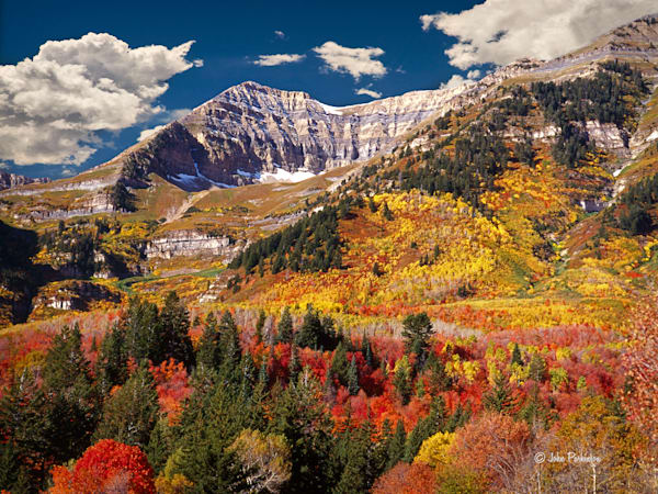 Timpanogos Backside in Autumn brings great pleasure in particular to so many who have great reverence for Mount Timpanogos.