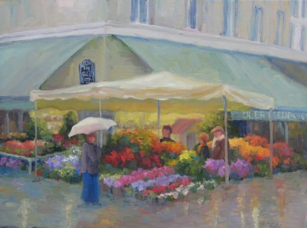 Brightening A Rainy Day Art | B. Oliver, Art
