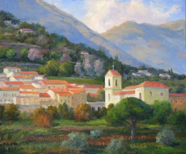 Italian Hillside  Art | B. Oliver, Art