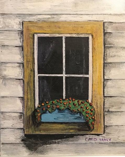 Window Box 5 Art | DavidPVance Prints
