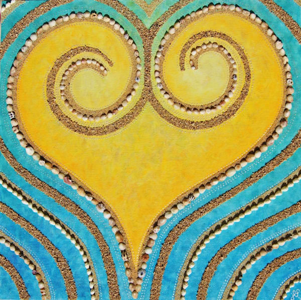 Aloha Heart Art | Jill Lena Ford Art
