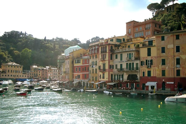 Portofino photograph by Ivy Ho for sale as Fine Art