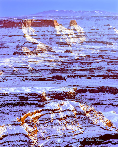 Winter Dusk in Canyonlands National Park, Utah