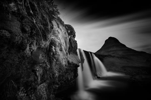 The Water Fall And The Pyramid 1 Photography Art | stephanelacasa
