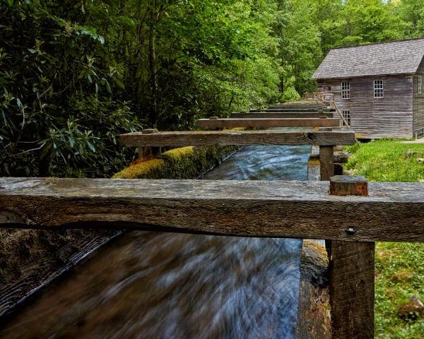 Water Chute at Mingus Mill