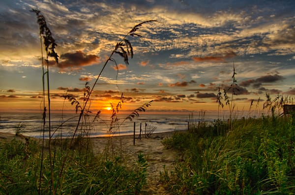 Sunrise in Kitty Hawk Outer Banks