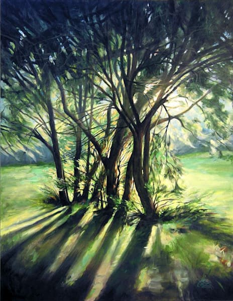 Evening Light Original Painting