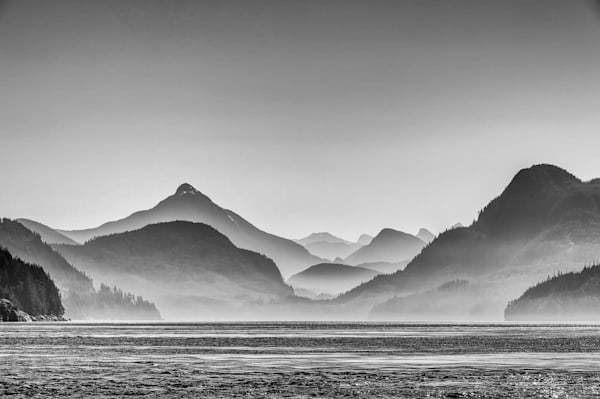 Mountain Layers, B&W Photography Art | Carol Brooks Parker Fine Art Photography