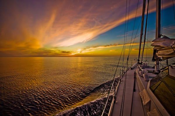 Sail Into Sunset Photography Art | Carol Brooks Parker Fine Art Photography