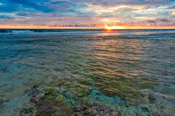 Fringing Reef #3 Photography Art | Carol Brooks Parker Fine Art Photography