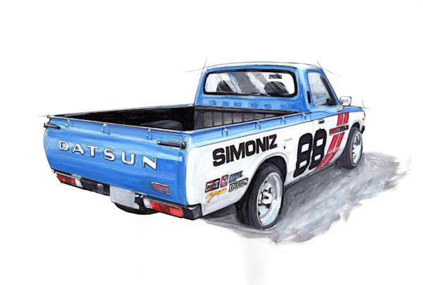 Bre Racing Truck Art | Motorgirl Studios