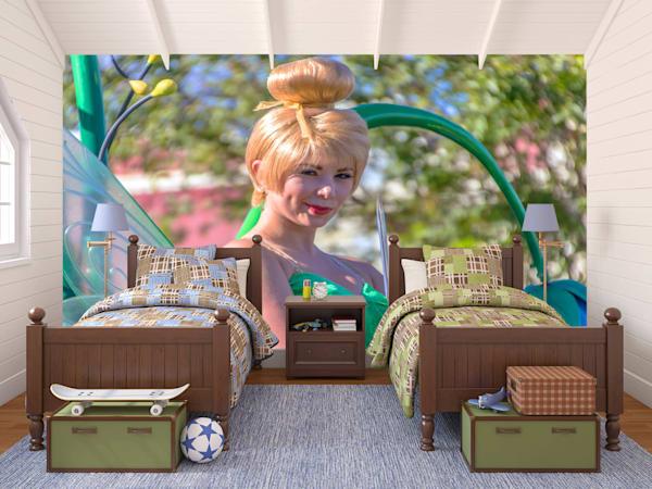 Tinkerbell - Disney Mural | William Drew Photography