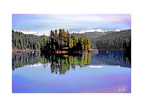 18x24 Full Lake