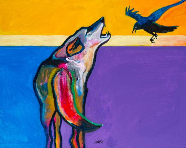Raven Tag   John Nieto Art Reproduction