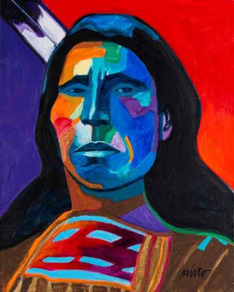 Jack Red Cloud | John Nieto Art Reproduction