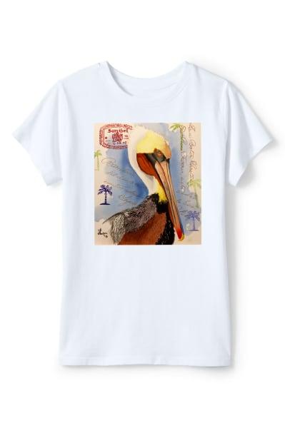 The Sanibel Pelican T Shirt