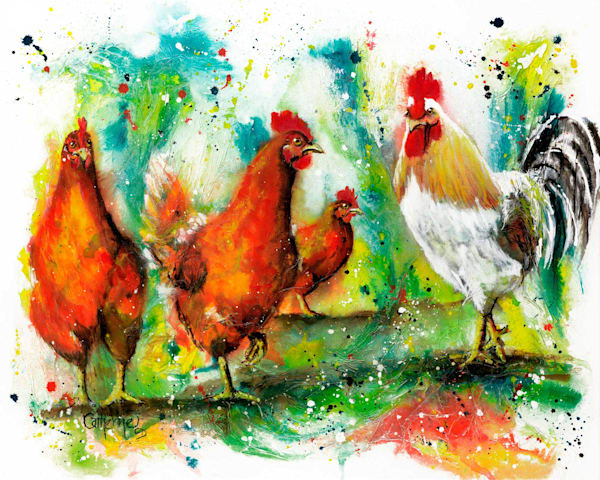 Ink Series Chooks II