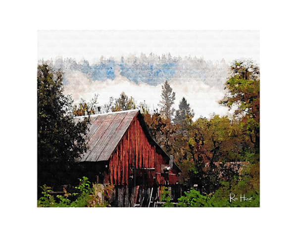 16x20 Washington California Barn