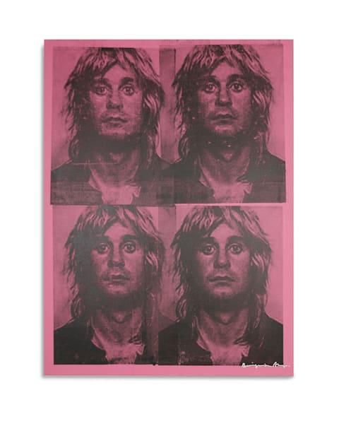 Mugshot Ozzy Osbourne Pink