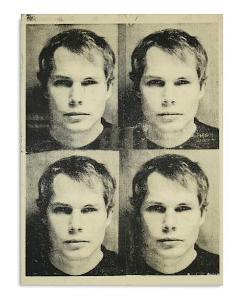 Mugshot Shepard Fairey Yellow