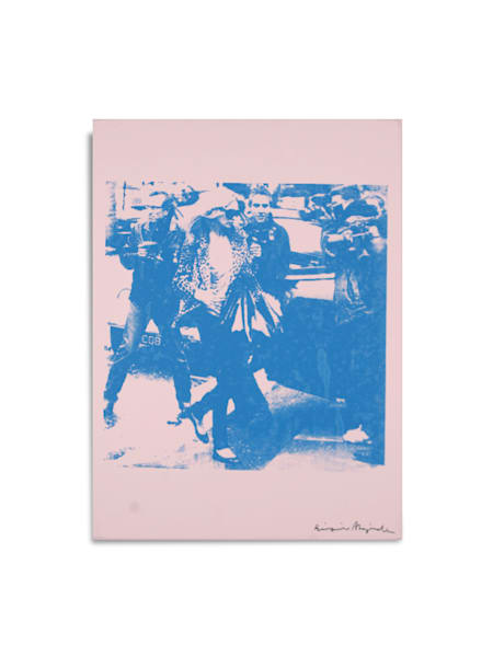 Untitled Kate Moss Pink Blue