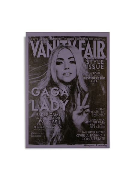 Untitled Lady Gaga Vanity Fair Blue