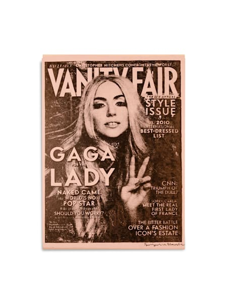 Untitled Lady Gaga Vanity Fair Light Pink