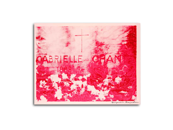 Untitled Chanel Gravesite Red