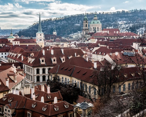 Overlooking Prague - Tamea Travels