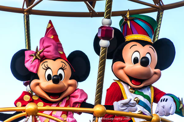 Mickey and Minnie - Disney Mural | William Drew Photography