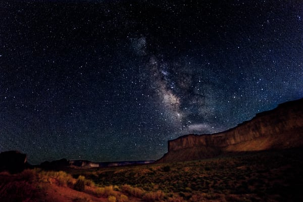 Milky Way Over Monument Valley Photography Art | Carol Brooks Parker Fine Art Photography
