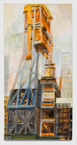"53W53 from 53rd St,  September 2017, 30"" x 15"""