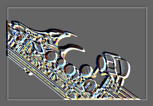 Metal Art Soprano Saxophone Music 3342.102