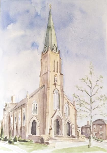 Saint Rose Perrysburg Watercolor