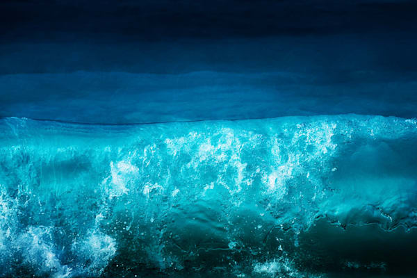 Blue Wave Abstract Photography Art | Carol Brooks Parker Fine. Art Photography