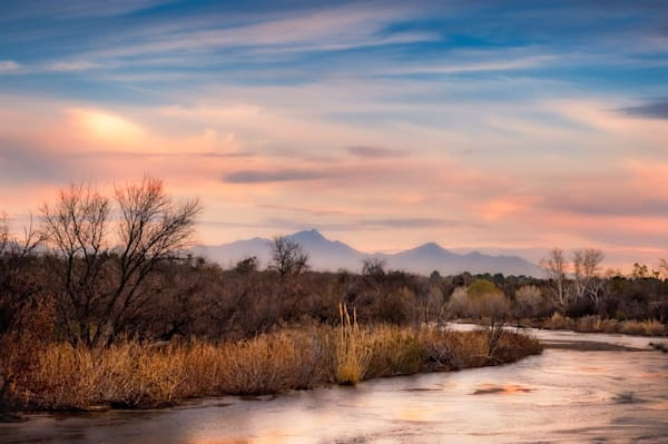 Sabino Creek Winter Landscape #1 Photography Art by cbpphoto